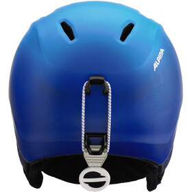 Alpina Carat XT Casque de ski Enfant, blue-gradient matt